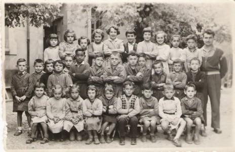 Ecole de Léran - 1961 - Classe de Mr ERRE