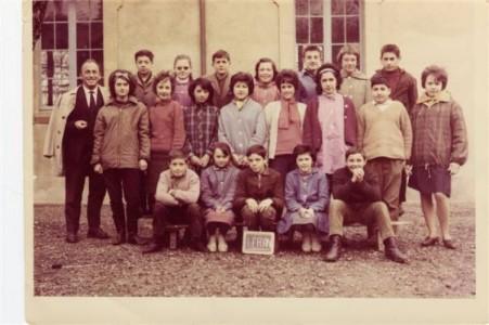 Ecole de Léran - 1963 - Classe de CM2 (M. TIGNOL)