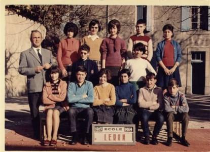 Ecole de Léran - 1964 - Fin d'étude (M. TIGNOL)