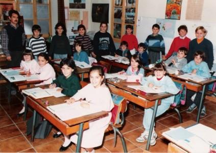 Ecole de Léran - 1987 - Classes de CE2, CM1 & CM2